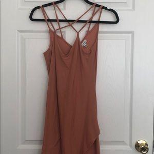Sleek High-low Dress